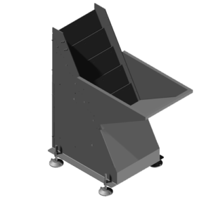 Elevation through oscillating slats