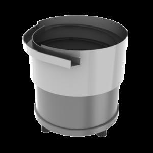 cylindrical bowl vibrator