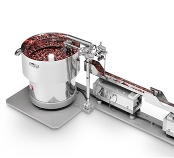 Vibratory bowl feeder for all sectors